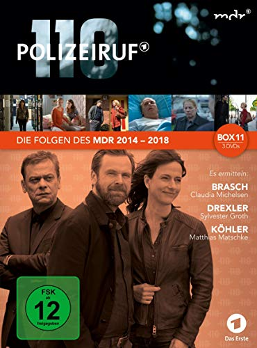 Polizeiruf 110 MDR Box 11 (3 DVDs)