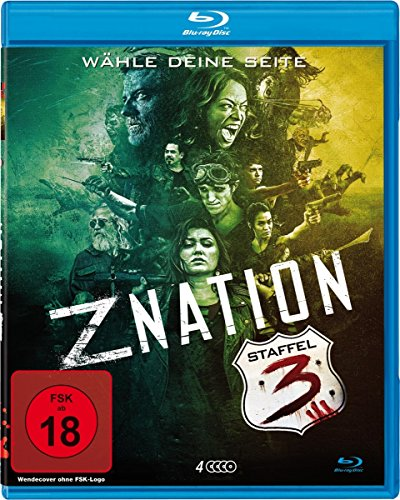 Z Nation Staffel 3 (Uncut Edition) [Blu-ray]