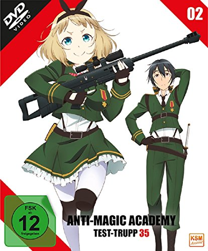 Anti Magic Academy - Test Trupp 35 Vol. 3 [Blu-ray]