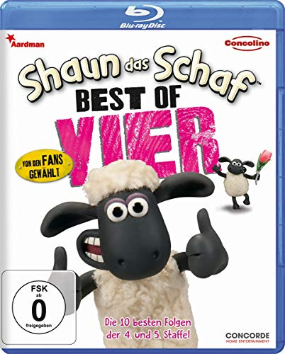Shaun das Schaf Best of Vier [Blu-ray]