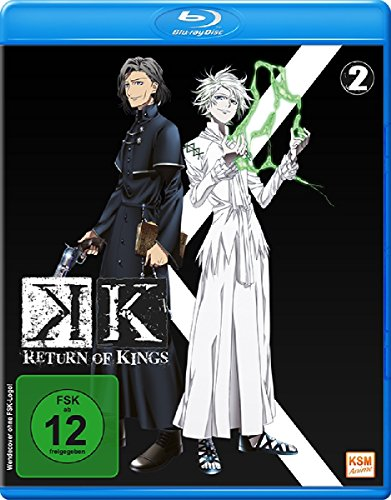 K Return of Kings: Staffel 2.2 (Sammelschuber) [Blu-ray]