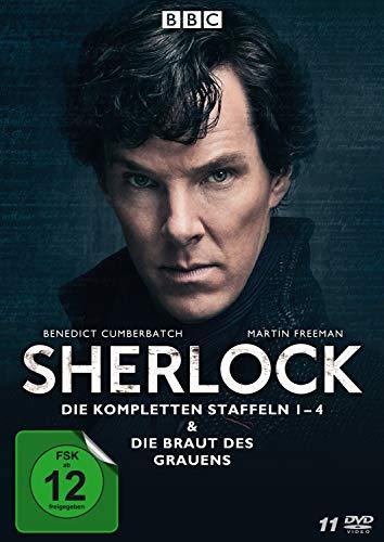 Sherlock Staffel 1-4 + Die Braut des Grauens (11 DVDs)