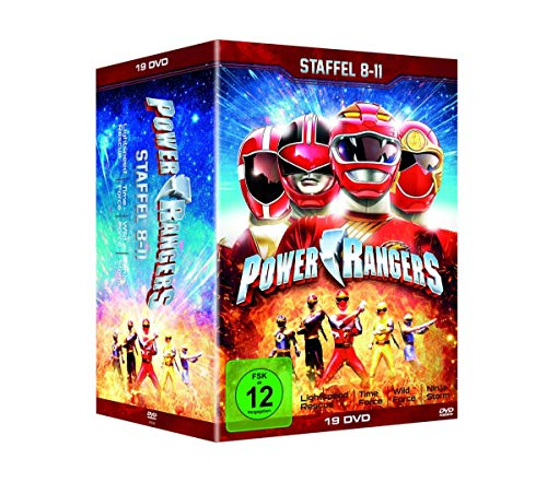 Power Rangers - Staffel 8-11 (Lightspeed Rescue, Time Force, Wild Force & Ninja Storm) (19 DVDs)
