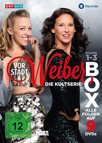 Vorstadtweiber Staffel 1-3 (Österreich Version) (9 DVDs)