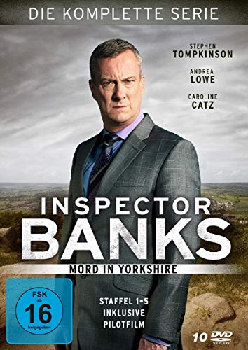 Inspector Banks Gesamtbox (10 DVDs)