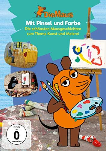 Die Maus 17 - Mit Pinsel und Farbe