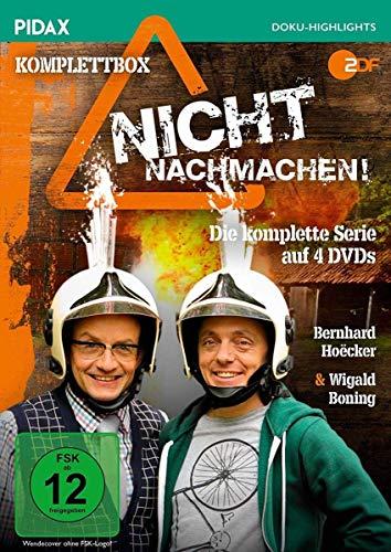 Nicht nachmachen! Die komplette Serie (4 DVDs)