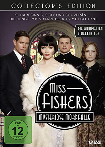 Miss Fishers mysteriöse Mordfälle Die komplette Serie (Collector's Edition) (13 DVDs)
