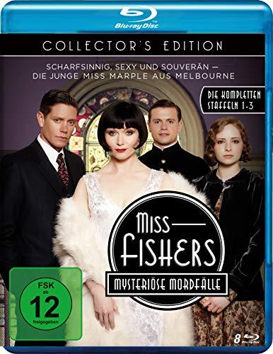 Miss Fishers mysteriöse Mordfälle Die komplette Serie (Collector's Edition) [Blu-ray]
