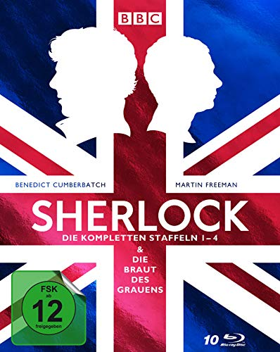 Sherlock Staffel 1-4 + Die Braut des Grauens [Blu-ray]