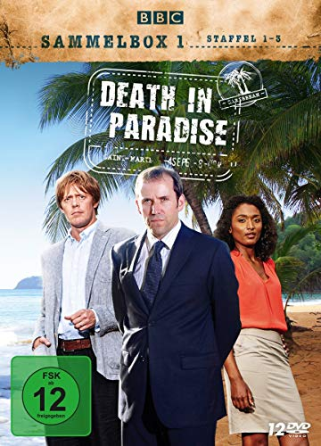 Death in Paradise Sammelbox 1 (Staffel 1-3) (12 DVDs)