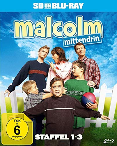 Malcolm mittendrin Staffel 1-3 [SD on Blu-ray]