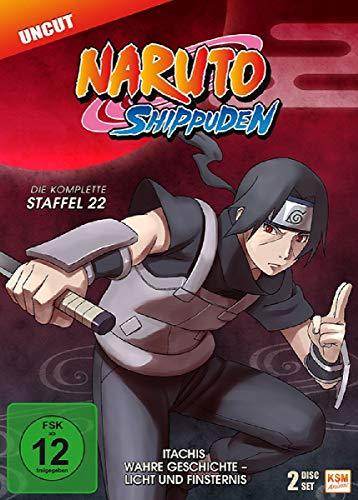 Naruto Shippuden Staffel 22: Itachis wahre Geschichte - Licht und Finsternis (3 DVDs)