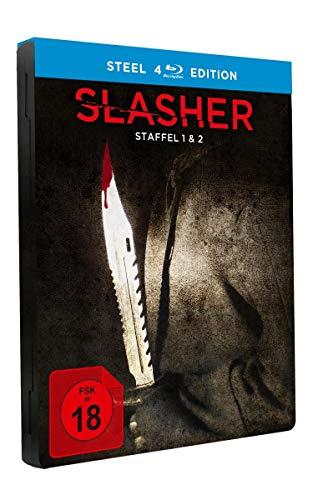Slasher Staffel 1+2 (Limited Steel Edition) [Blu-ray]