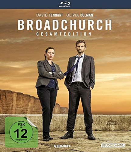 Broadchurch Gesamtedition (Staffel 1-3) [Blu-ray]