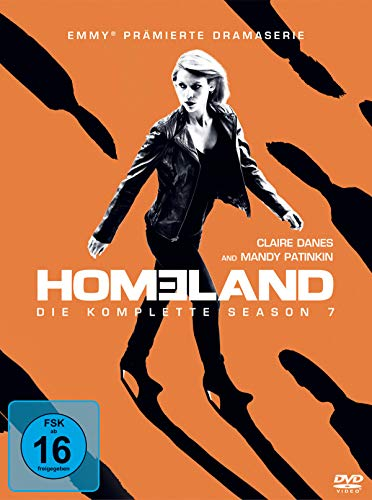 Homeland Season 7 (4 DVDs)