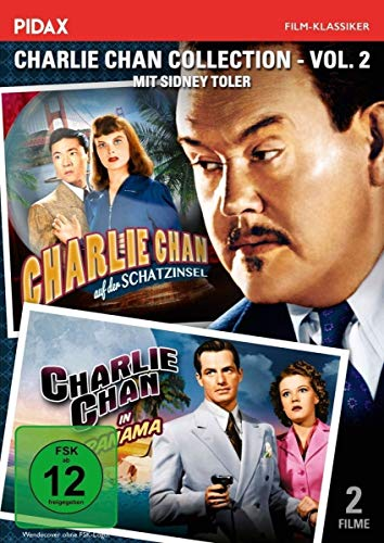Charlie Chan Collection, Vol. 2: Charlie Chan auf der Schatzinsel + in Panama