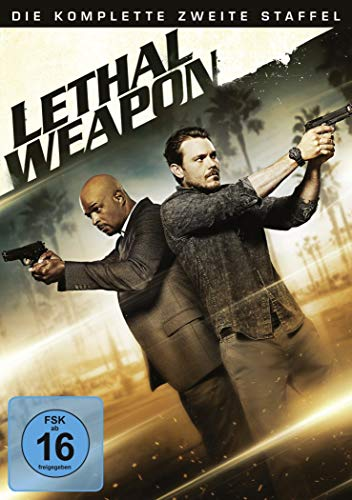 Lethal Weapon Staffel 2 (4 DVDs)
