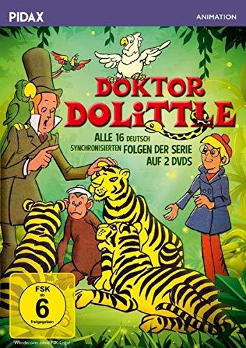Doktor Dolittle Die komplette Zeichentrickserie (2 DVDs)