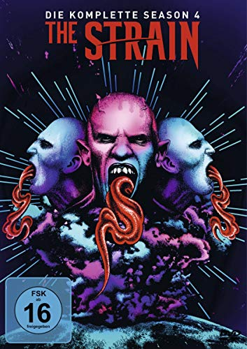 The Strain Staffel 4 (3 DVDs)