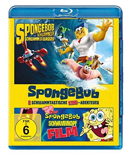 SpongeBob Schwammkopf Der Film & Schwamm aus dem Meer [Blu-ray]