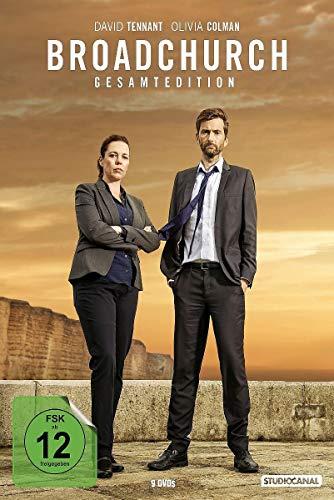 Broadchurch Gesamtedition (Staffel 1-3) (9 DVDs)