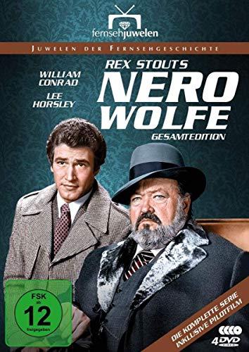 Nero Wolfe Gesamtedition (alle 14 Folgen + Pilotfilm) (4 DVDs)