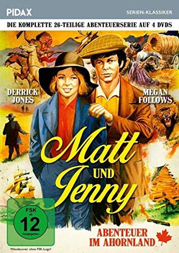 Matt und Jenny - Abenteuer im Ahornland 4 DVDs