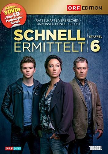 Schnell ermittelt Staffel 5 (+Bonus-CD 'Pathologie-Songs') (3 DVDs)