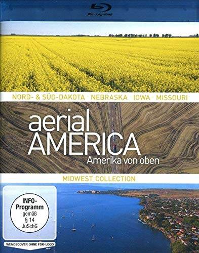 Aerial America Amerika von oben: Midwest Collection [Blu-ray]