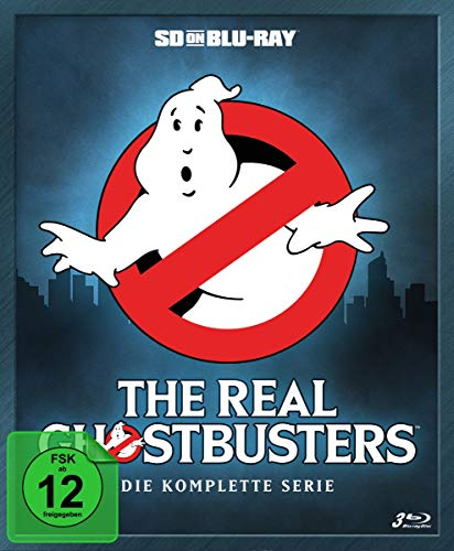 The Real Ghostbusters Die komplette Serie (Mediabook) [SD on Blu-ray]