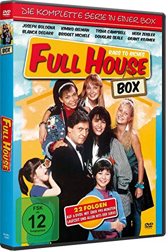 Full House: Rags to Riches Die komplette Serie in einer Box (6 DVDs)