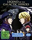 Legend of the Galactic Heroes: Die Neue These - Vol. 3 (Limited Edition mit Sammelschuber) [Blu-ray]