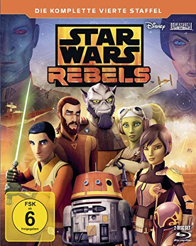 Star Wars Rebels Staffel 4 [Blu-ray]