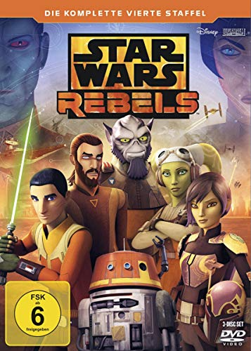 Star Wars Rebels Staffel 4 (3 DVDs)