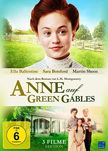 Anne auf Green Gables Teil 1-3 Gesamtedition (3 DVDs)