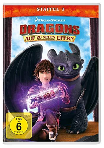 Dragons Auf zu neuen Ufern: Staffel 3 (4 DVDs)
