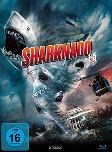 Sharknado 1-5 [Blu-ray]