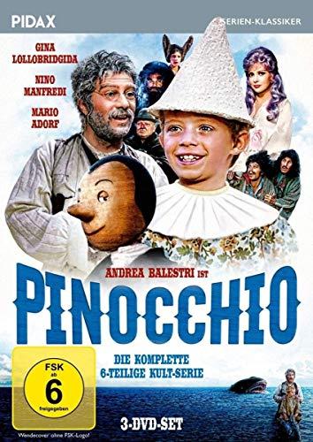Pinocchio Die komplette Serie (3 DVDs)
