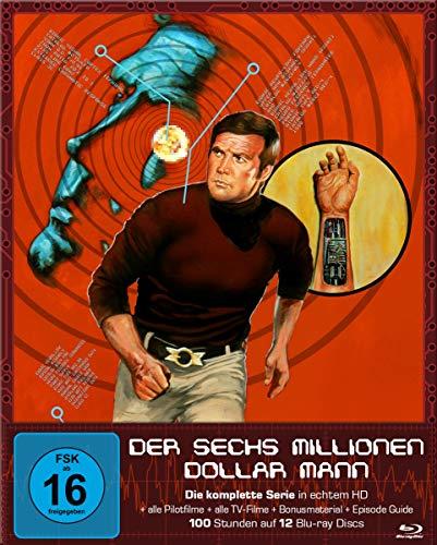 Der Sechs-Millionen-Dollar-Mann Die komplette Serie [Blu-ray]