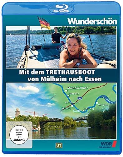 Wunderschön! Mit dem Tret-Hausboot über die Ruhr: Von Mülheim nach Essen [Blu-ray]