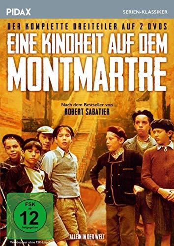 Eine Kindheit auf dem Montmartre (Allein in der Welt) 2 DVDs