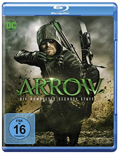 Arrow Staffel 6 [Blu-ray]