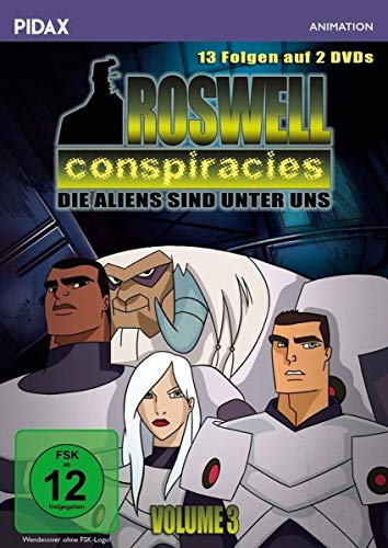 Roswell Conspiracies, Vol. 3 (2 DVDs)