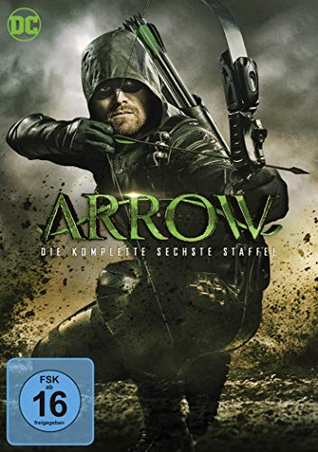 Arrow Staffel 6 (5 DVDs)