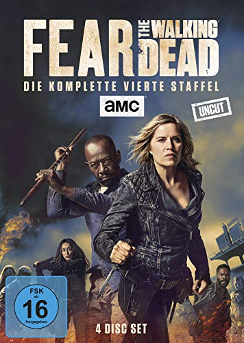 Fear the Walking Dead Staffel 4 (Uncut) (4 DVDs)