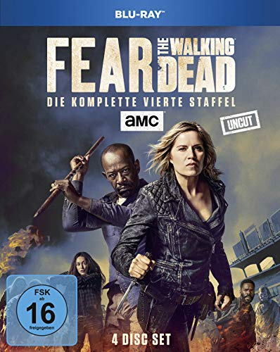 Fear the Walking Dead Staffel 4 (Uncut) [Blu-ray]