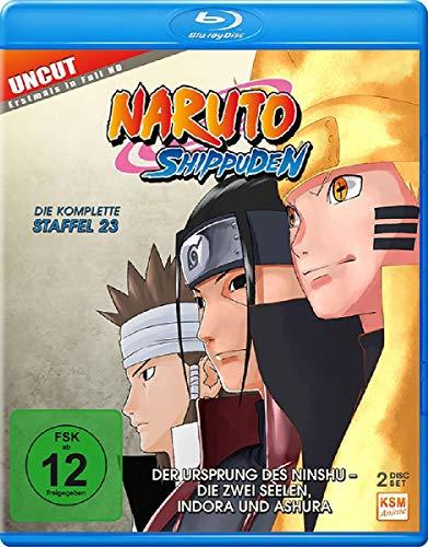 Naruto Shippuden Staffel 23: Der Ursprung des Ninshu - Die zwei Seelen, Indora und Ashura [Blu-ray]