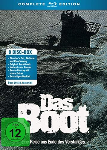 Das Boot - Komplett-Edition (Die Serie + Der Film (Director's Cut) + Original Soundtrack + Hörbuch) [Blu-ray]