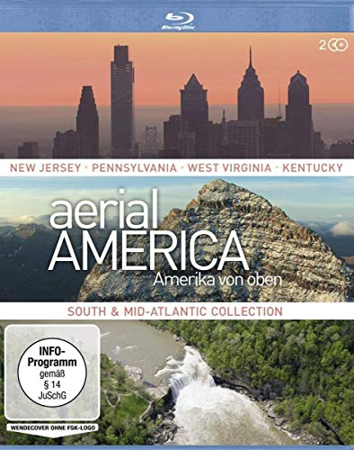 Aerial America Amerika von oben: South and Mid-Atlantic Collection [Blu-ray]
